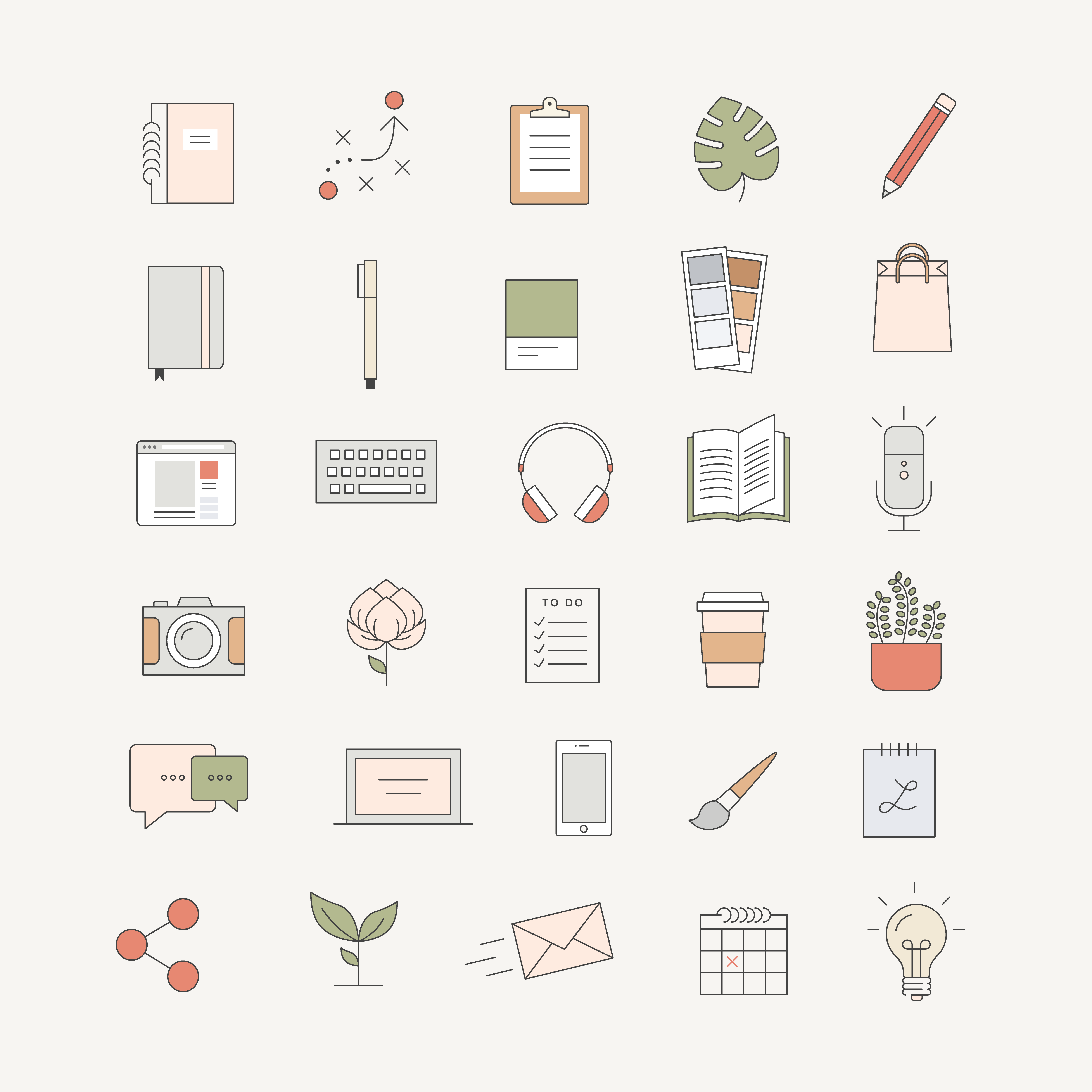 Ladypreneur Icon Pack — Station Seven Squarespace