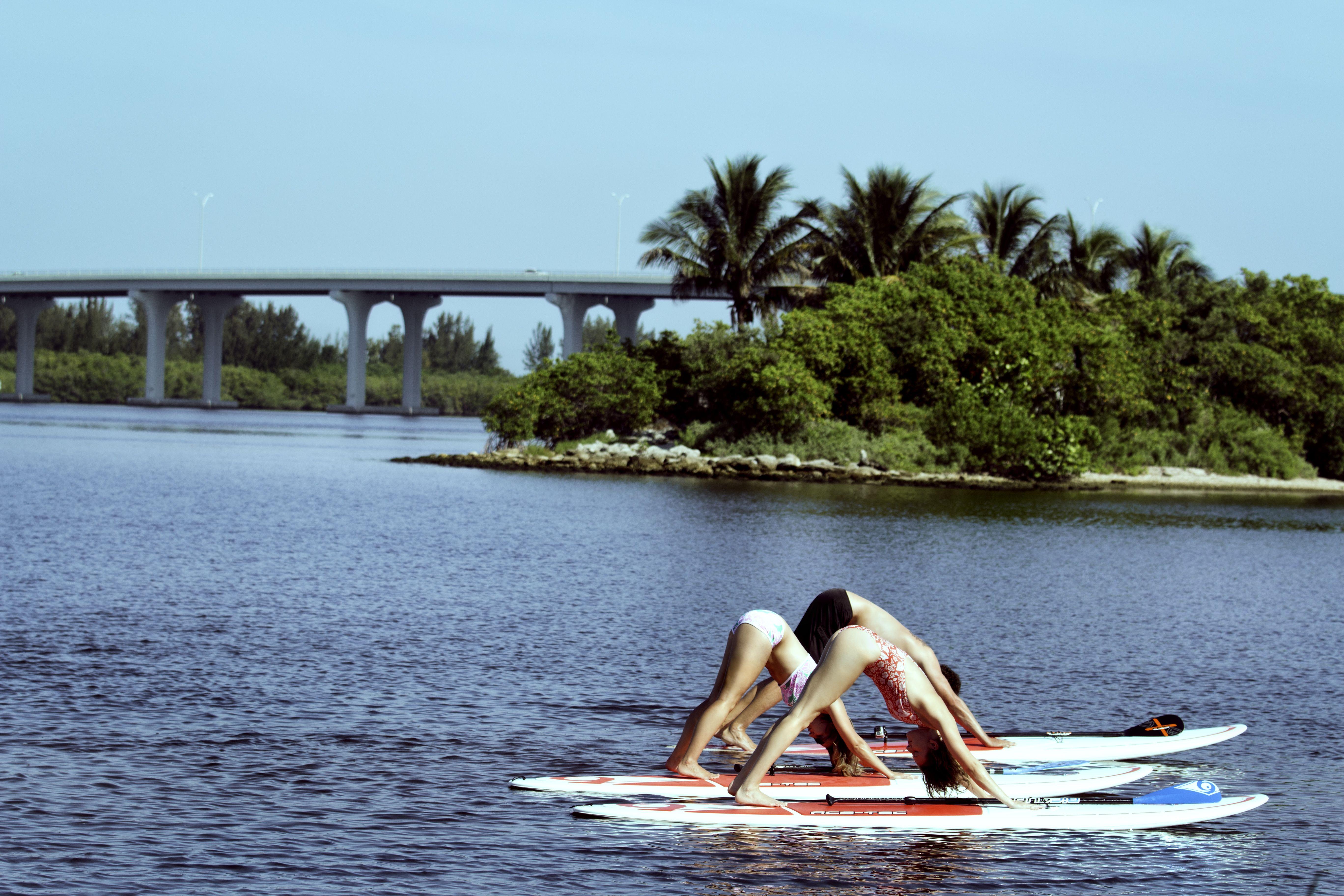 Paddle board fitness beach events vero beach beach