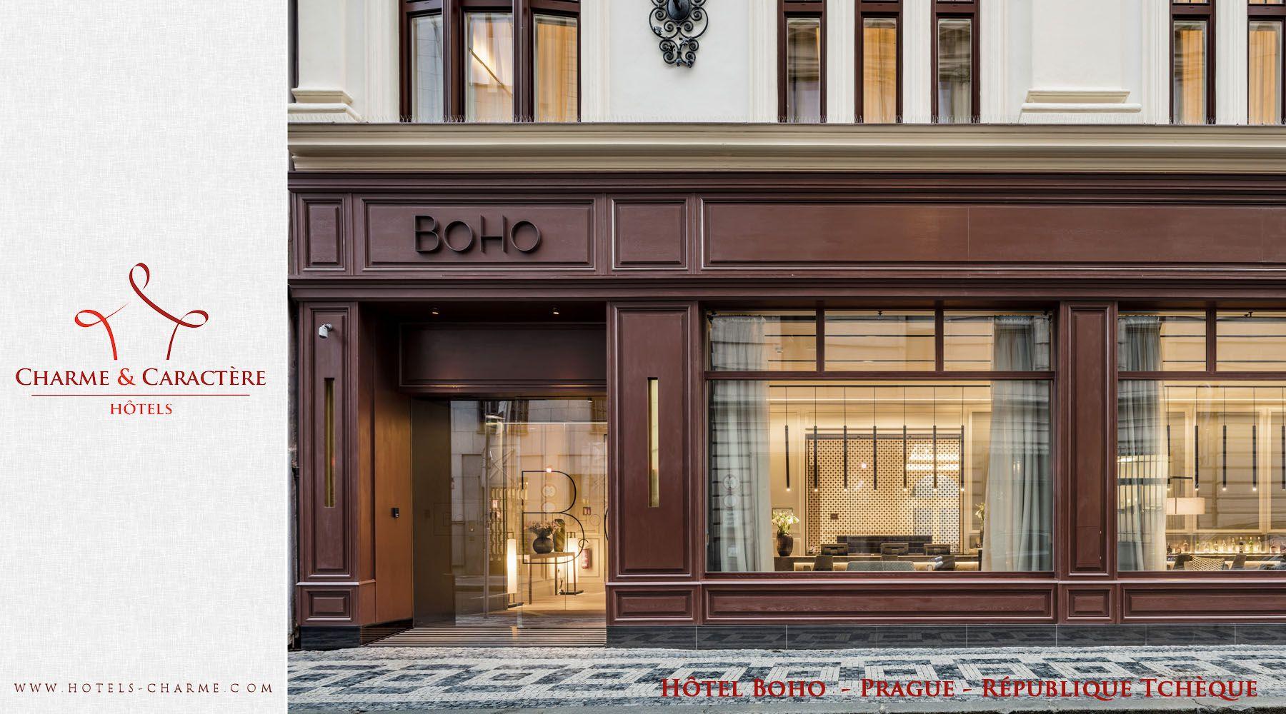 Hotels de Charme et de Caractere - Hôtel Boho - Prague - République ...