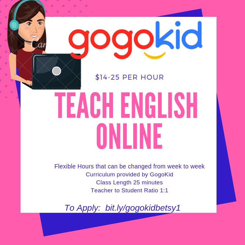 Interested in teaching English online? Gogokid offers