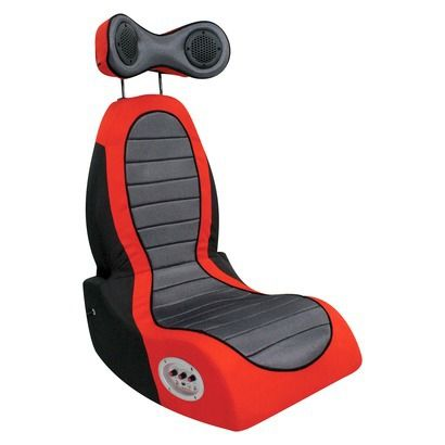 Lumisource Boomchair Pulse Gaming Chair Red Black Gaming Chair