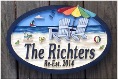 Beach House Signs Custom Misc Personalized