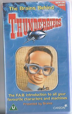 #Gerry anderson thunderbirds the #brains behind thunderbirds vhs video uk #postfr,  View more on the LINK: 	http://www.zeppy.io/product/gb/2/201626633932/