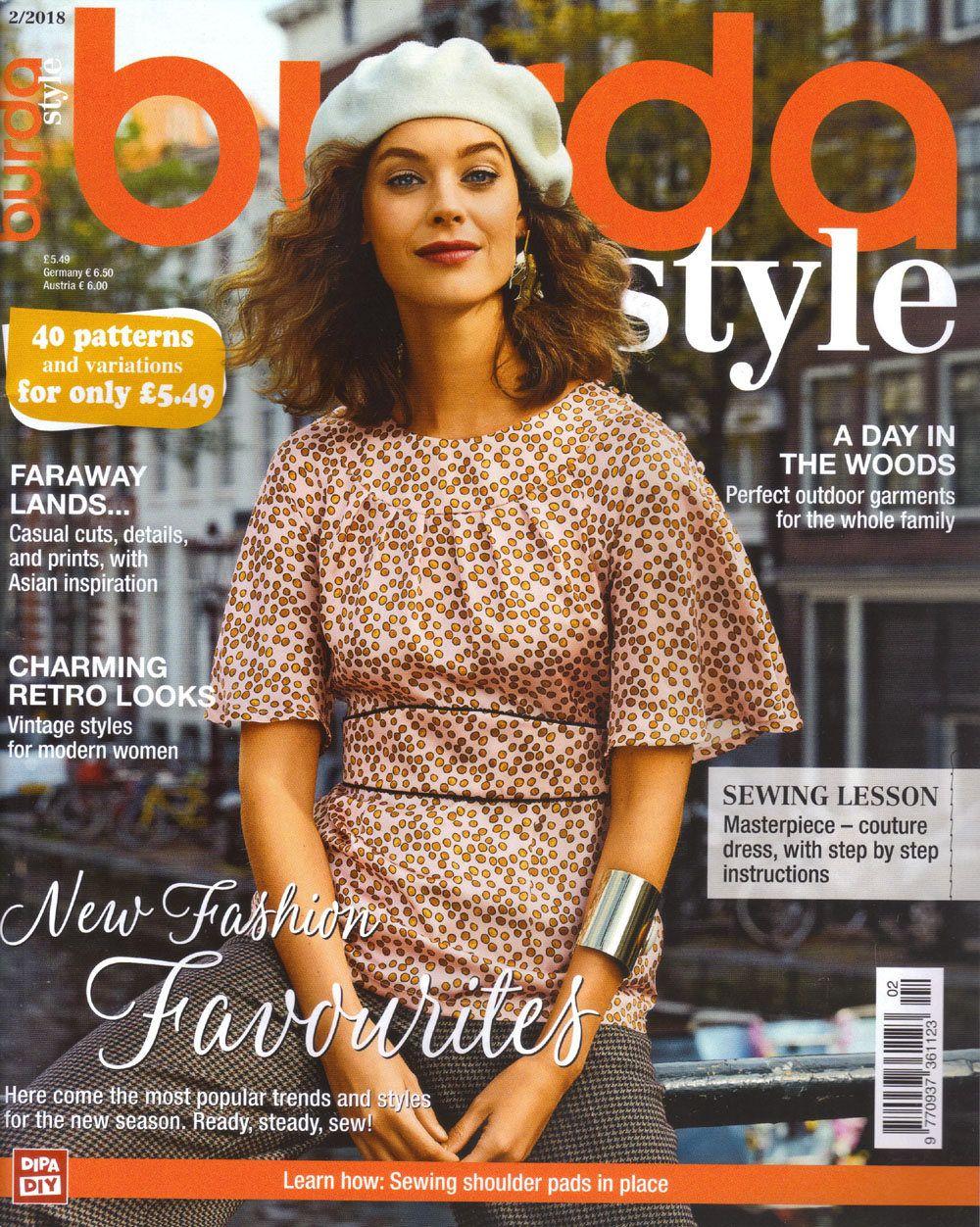 Burda style magazine 12018 english sewing patterns by burda style magazine 12018 english sewing patterns by honeyjamsuniques on etsy jeuxipadfo Image collections