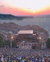 Sunrise Service at Red Rocks Amphitheater in Denver, CO