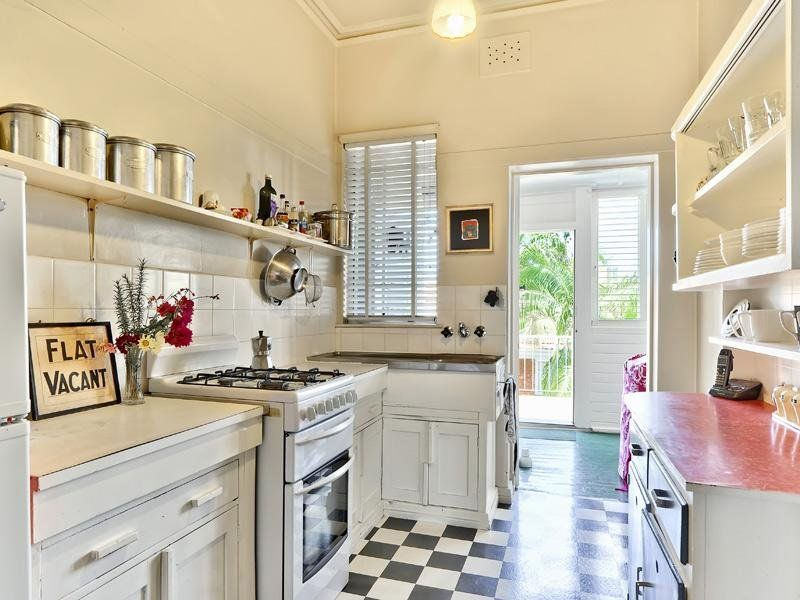 1930s kitchen coronet court, new farm | fabulous home style