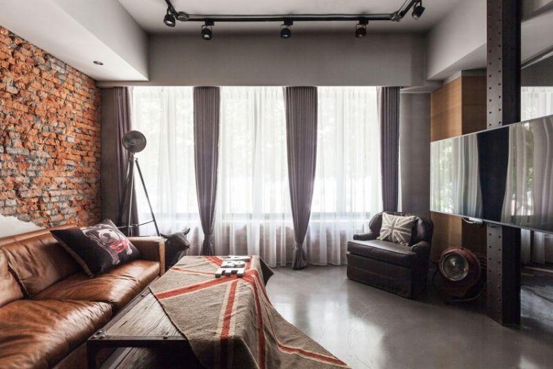 Einrichtung fürs Wohnzimmer in 80 inspirierenden Bildern Gardinen - gardinen fürs wohnzimmer