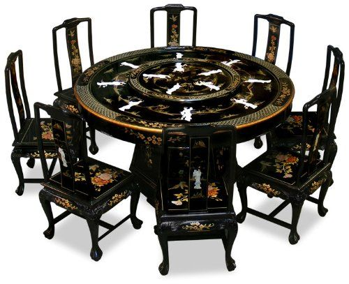 Antique Round Dining Table For 8 Round Dining Table In