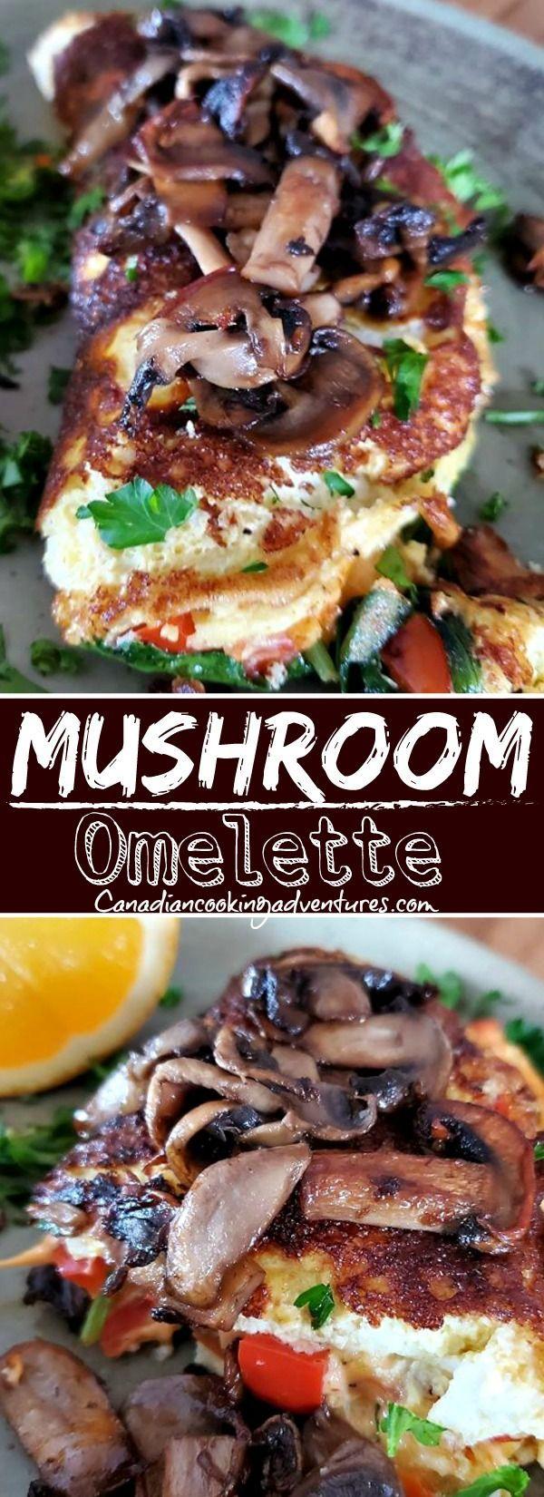 Healthy Mushroom Omelette