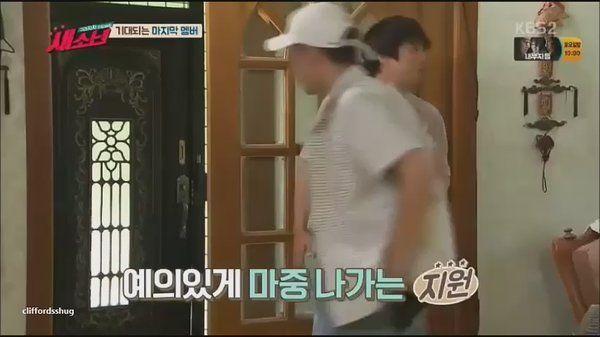 """타티아나 trên Twitter: """"Namjoon tricking the others lol he rang the bell and then quickly hid 😂 https://t.co/YzPXRDwue0"""""""