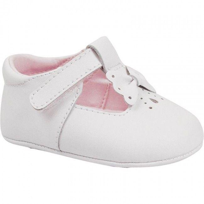 MAUS - Zapatos primeros pasos de Piel para niño blanco blanco 7TCN3K