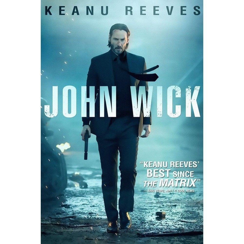John Wick Keanu Reeves Movie Poster En 2021 Keanu Reeves John Wick Ver Peliculas
