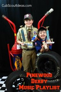 Fun Pinewood Derby Music - Cub Scout Ideas