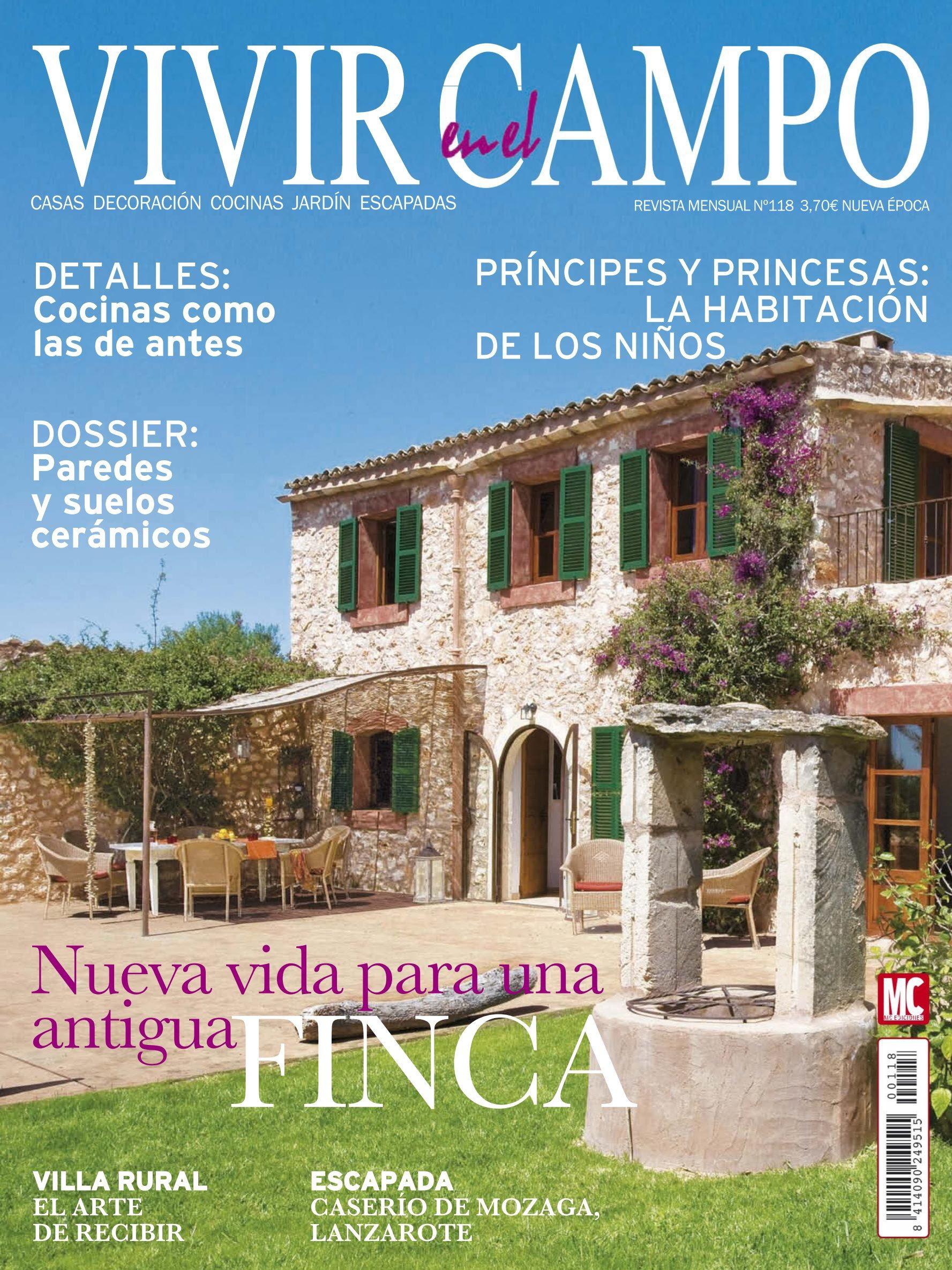 Revista Cocinas | Revista Vivir En El Campo 118 Nueva Vida Para Una Finca Antigua