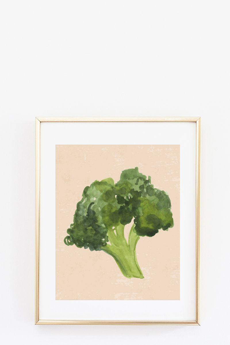 Free kitchen wall art printables veggie art prints in do it