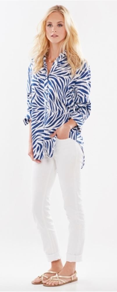 Monica Blue Zebra