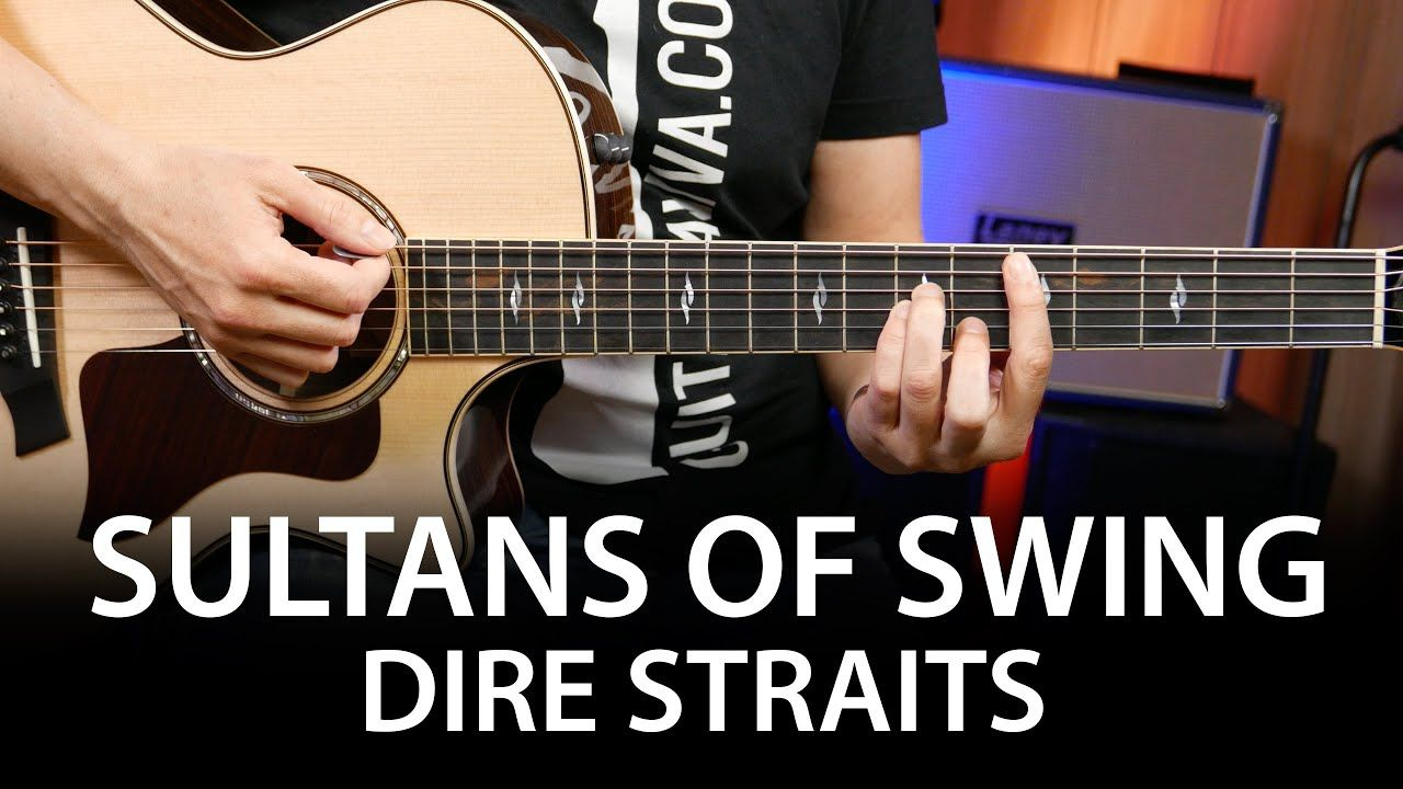 Sultans Of Swing Dire Straits Guitar Chords Cover On Guitar How To Play Youtube Acordes De Guitarra Mark Knopfler Dire Straits