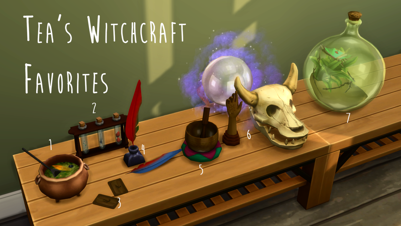 """teanmoon: """"Tea's Witchcraft Favorites• Steaming Cauldron ... Ink Pot And Quill Divinity Original Sin 2"""