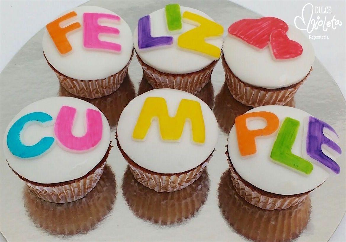 Cupcakes Regalo Para Desear Un Dulce Cumpleaños En 2019