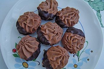 Tupfengebäck mit Zartbitterschokolade von brisane | Chefkoch