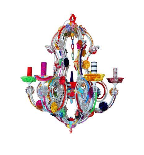Colorful Chandelier Color Colorful Pinterest Chandeliers