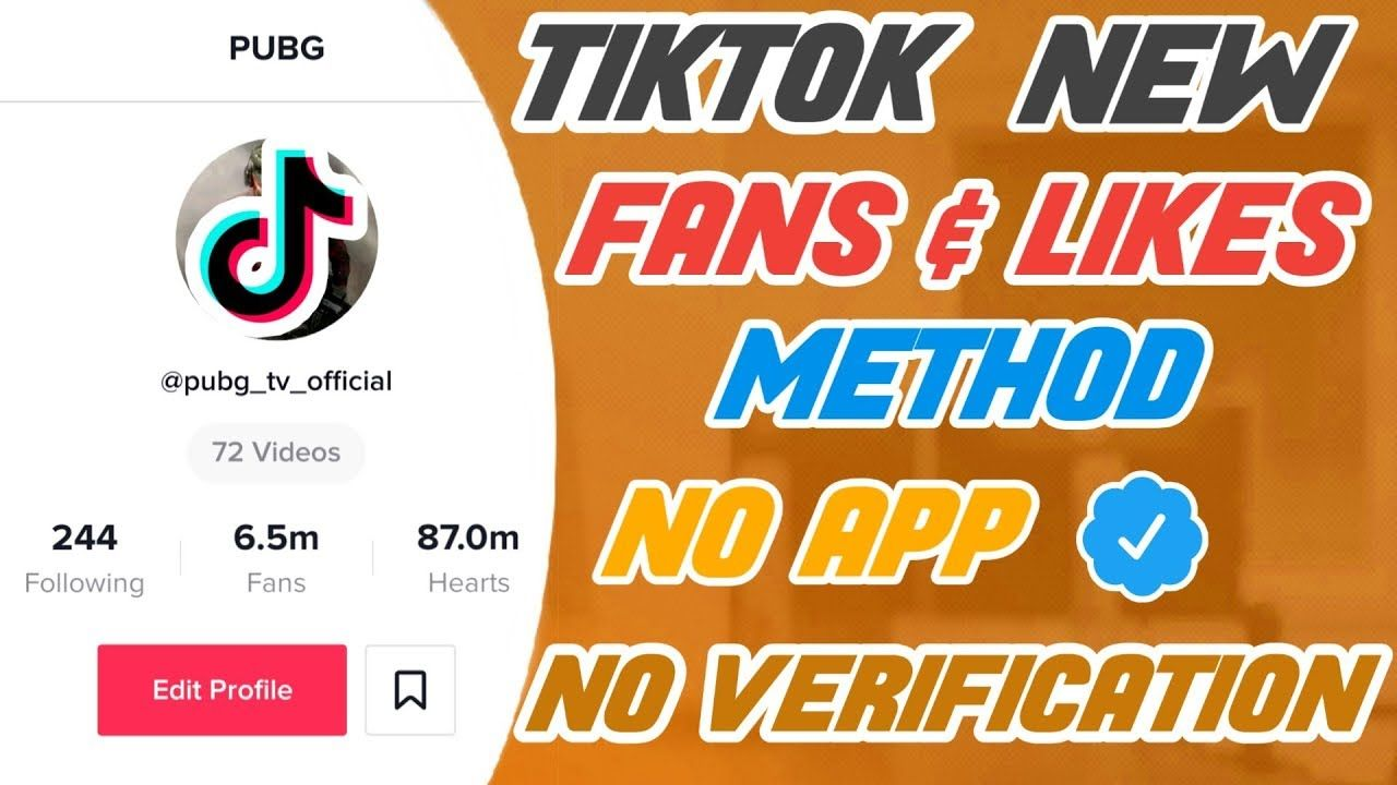 Increase real tiktok fans and likes using new method
