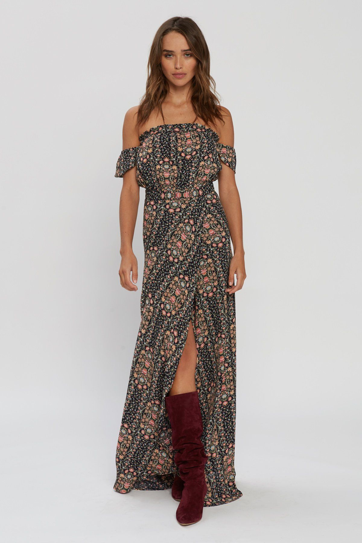 49357c7d11 Flynn Skye Bella Maxi Dress in Love Daze Print