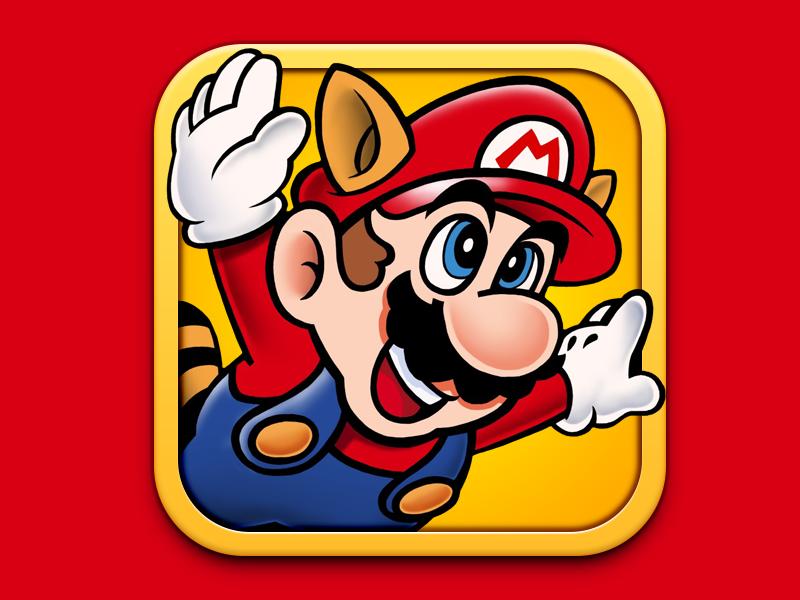 Super Mario Bros 3 App Icon