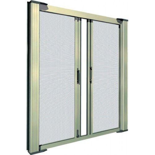 Screen Door For Double Doors Custom Retractable Double Door