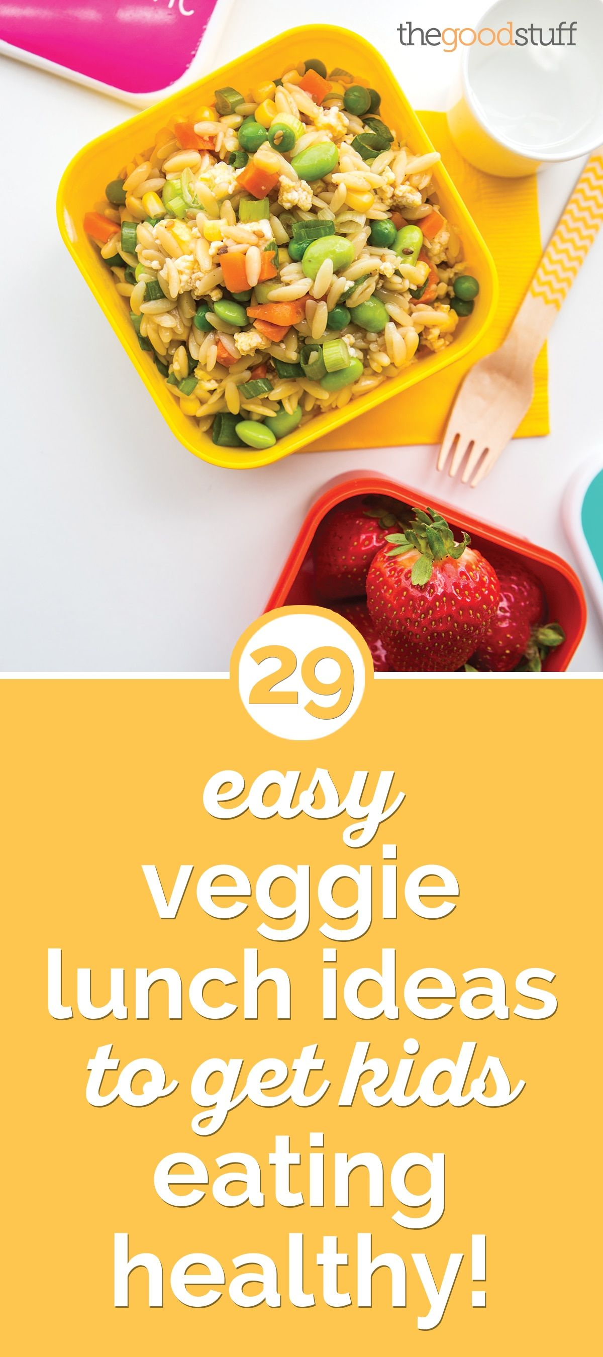 29 Easy Veggie Lunch Ideas to Get Kids Eating Healthy images