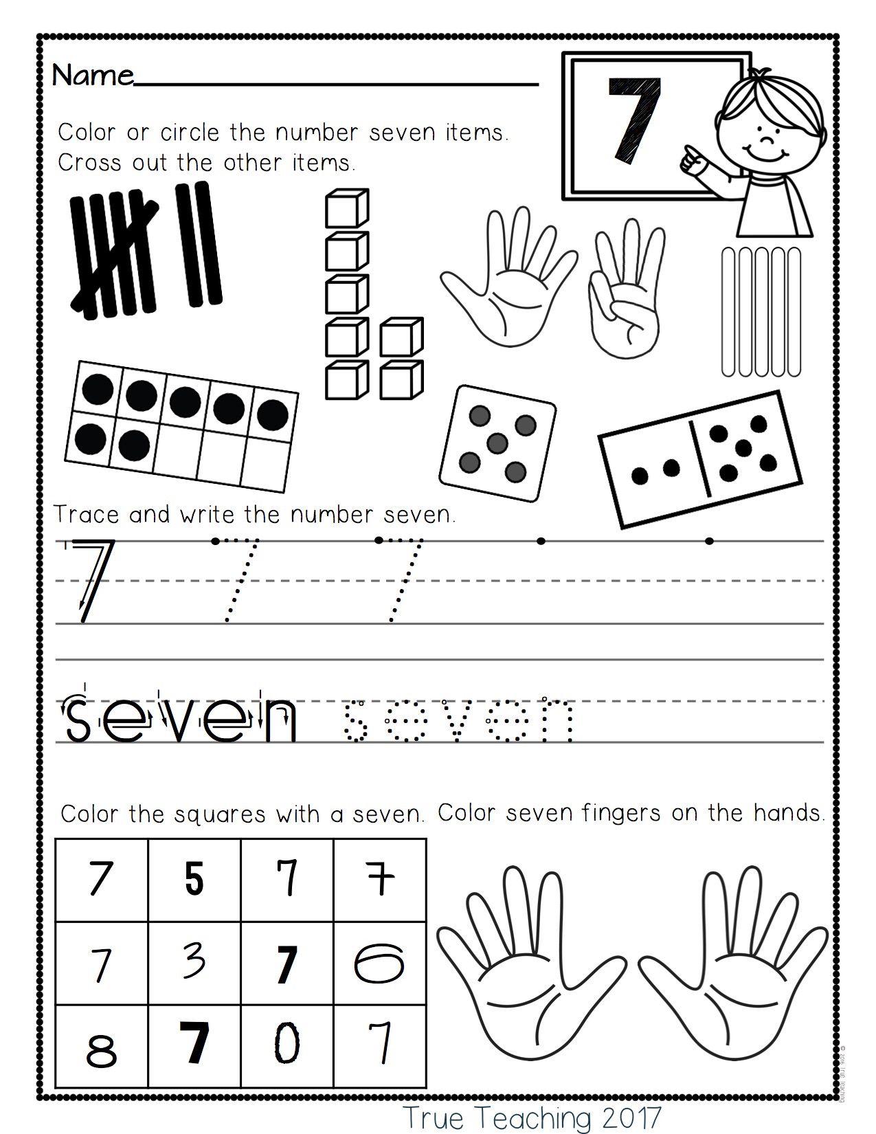 Numbers 0 10 By True Teaching