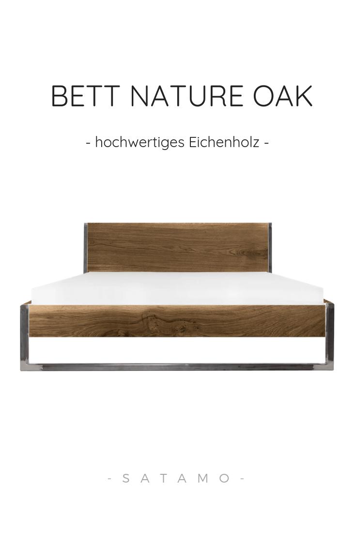 Bett Nature Oak Jetzt Online Kaufen Satamo De Bett Holz Bett Eiche Bett Massivholz
