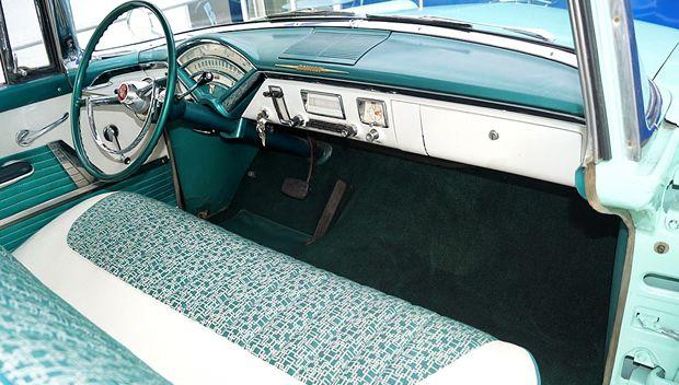 1955 Mercury Monterey Hardtop Coupe Alaska White Over Sunglaze Mercury Monterey Classic Cars