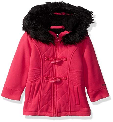 96c7ff169 Limited Too Baby Girls Quilted Toggle Fleece Jacket