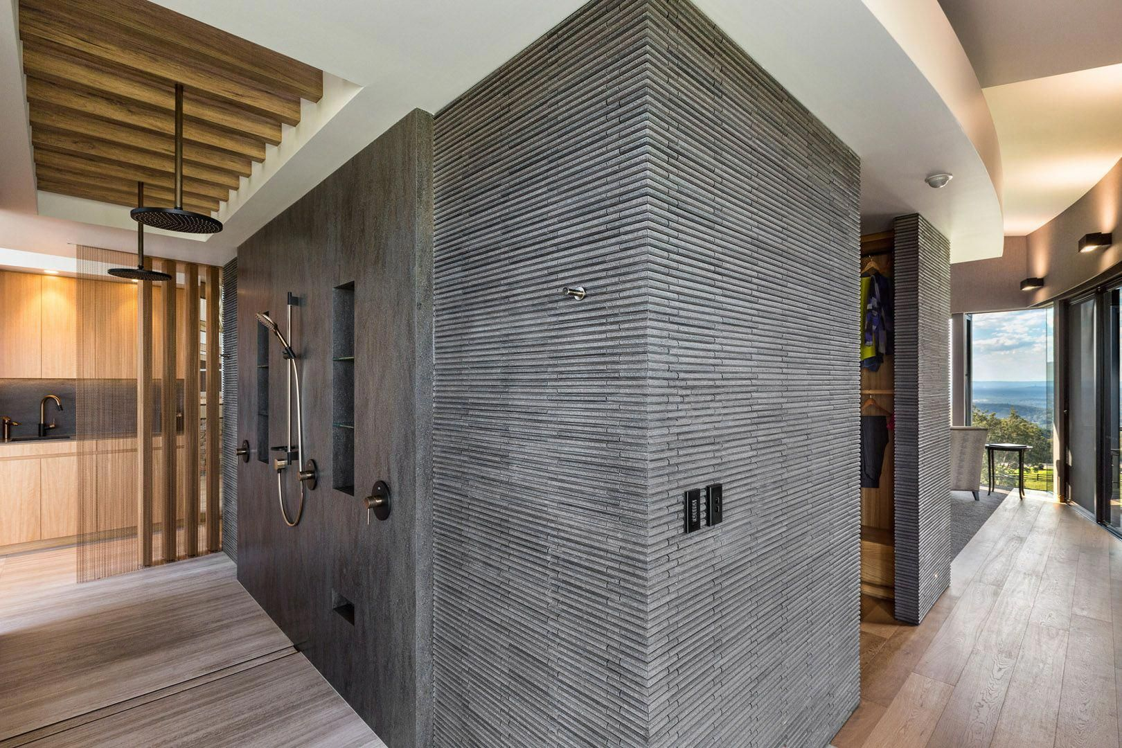 Luxe Lodge Corian Luxe lodge, Interior design projects