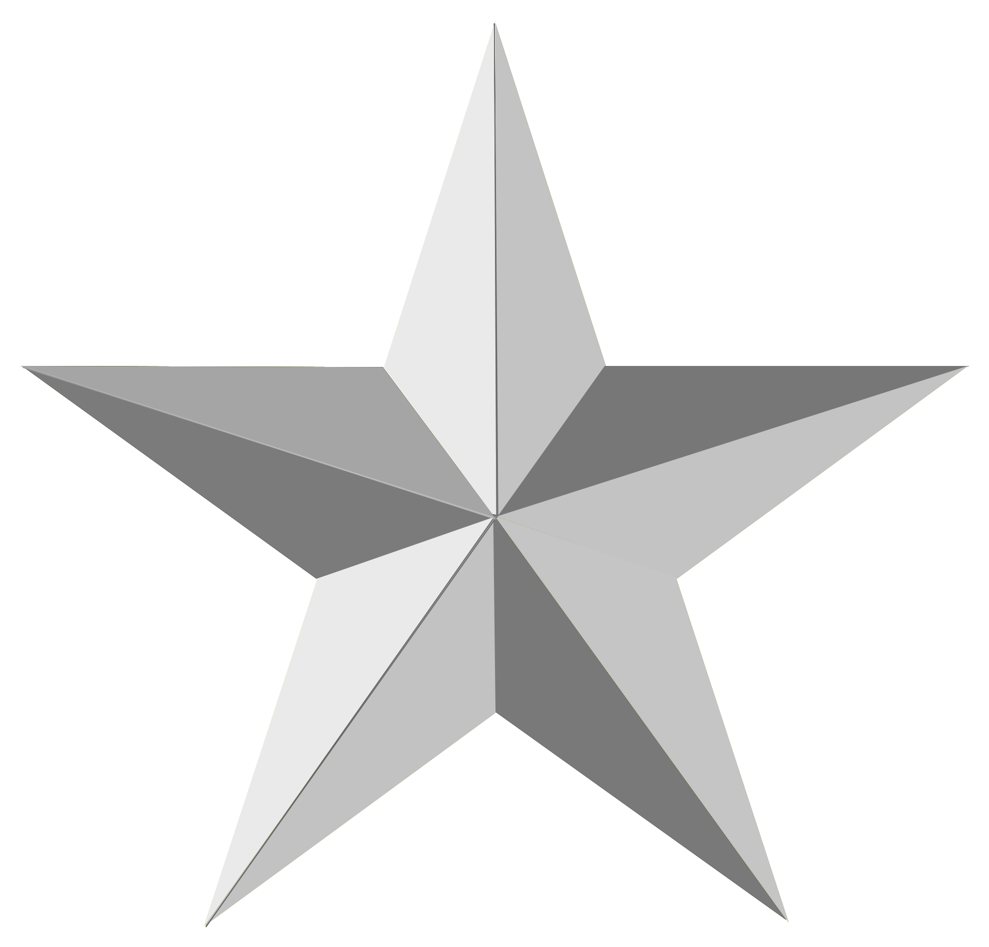 Silver Star Silver Stars Stars Star Light Star Bright