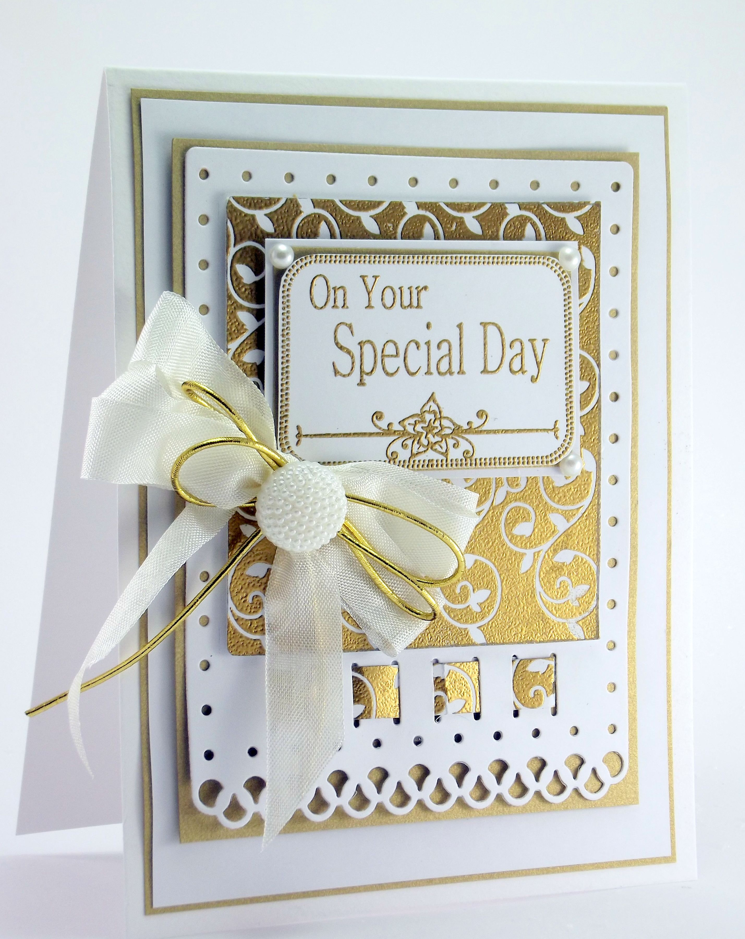Join John Lockwood For Another Amazing Creative Expressions One Day Special Be Inspi 50th Anniversary Cards Golden Anniversary Cards Wedding Anniversary Cards