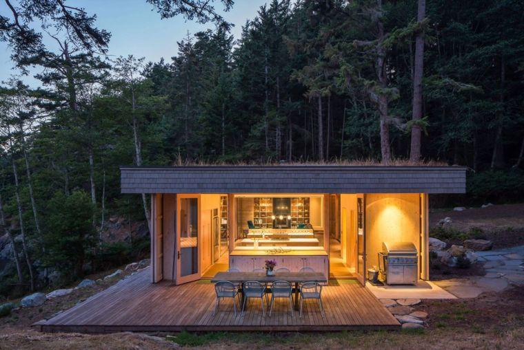 Maison toit plat contemporaine par Heliotrope Architects Rara avis