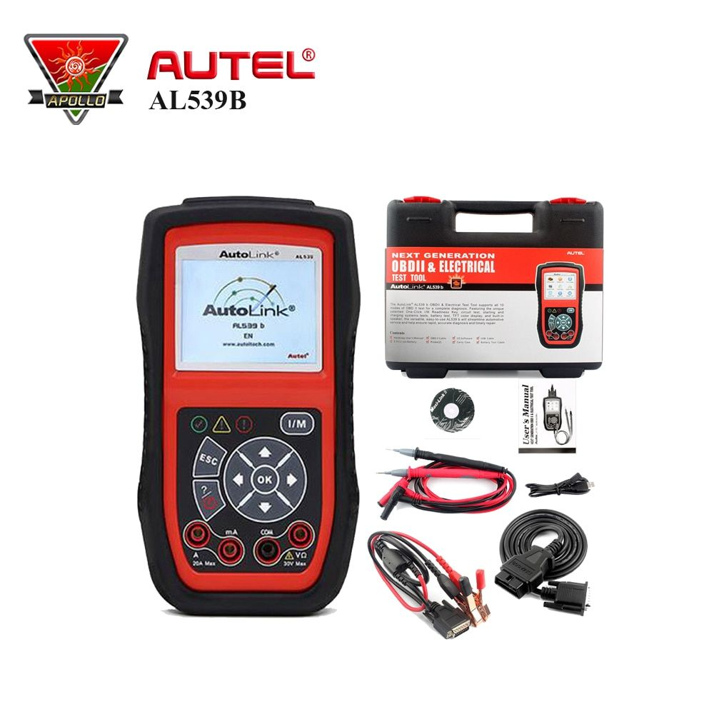 OBD 2 Code Reader Electrical Test Scan Tool Auto