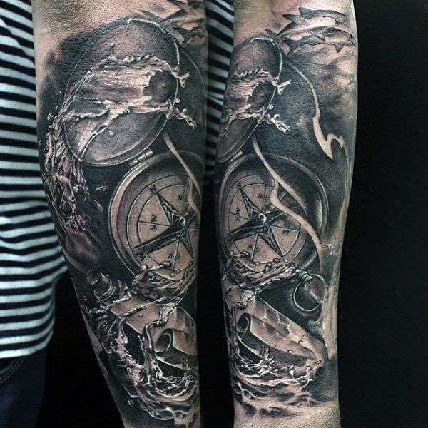 80 Water Tattoos For Men Masculine Liquid Designs Water Tattoo Tattoos For Guys Tattoos