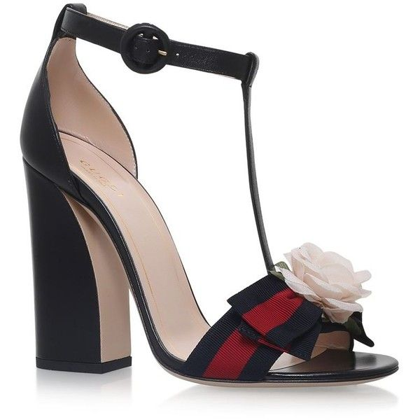11df1dd4bfa Gucci Cindi Sandals 110 ( 685) ❤ liked on Polyvore featuring shoes ...