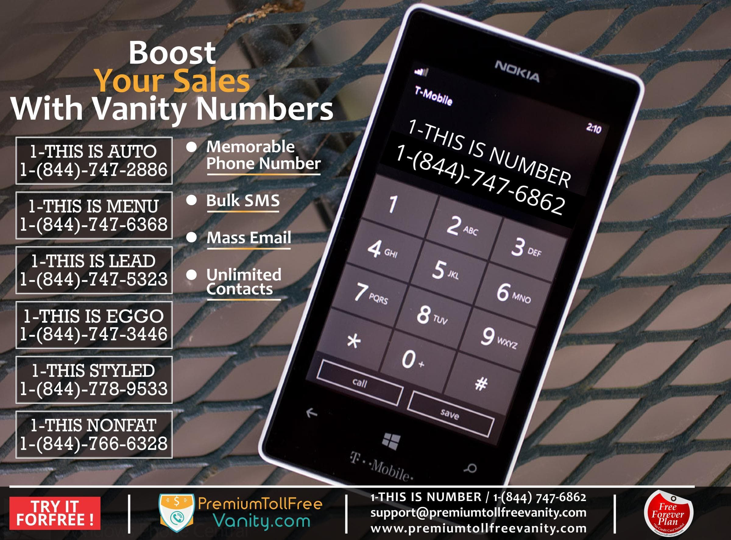 If You Are Planning To Expand Your #Business In Your Location, Use Vanity  Numbers