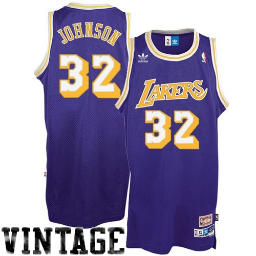 57c856a05ae adidas Los Angeles Lakers  32 Earvin