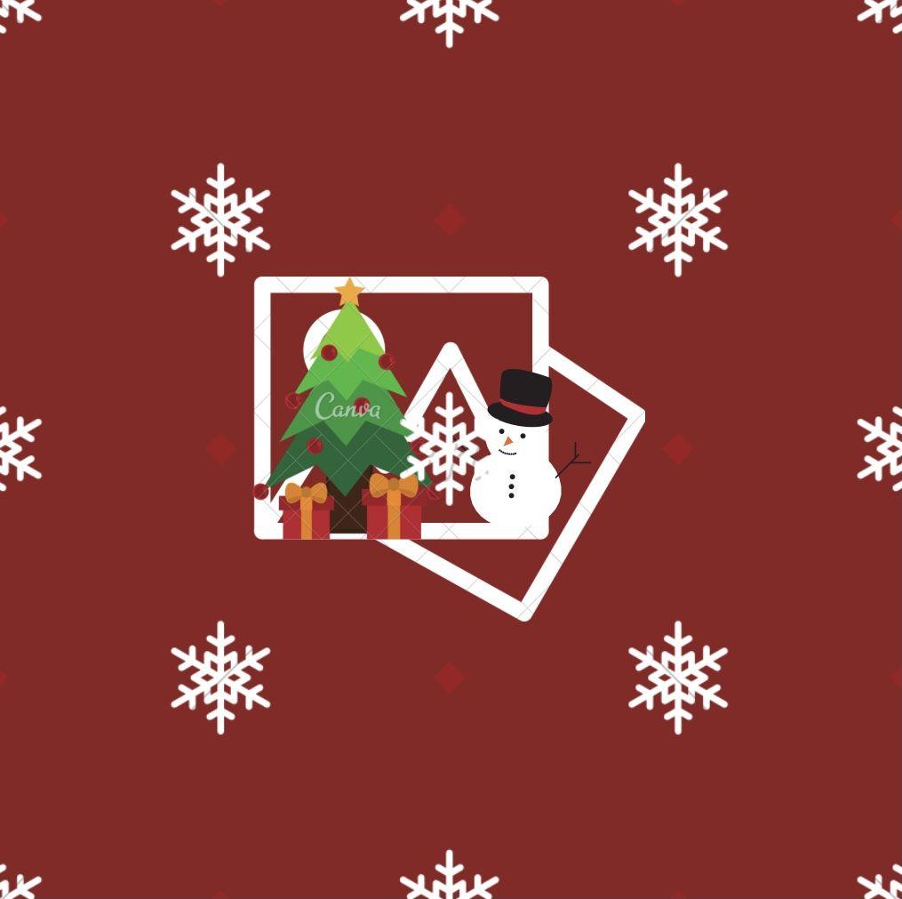 Christmas photos icon