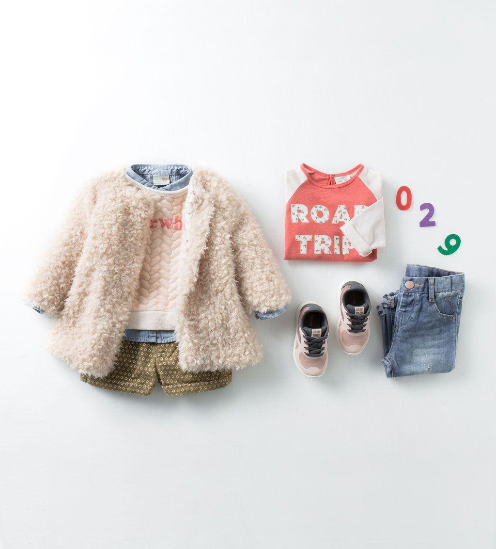 Connu Acheter le look-Bébé fille (3 mois - 3 ans)-ENFANTS | ZARA France  ED03