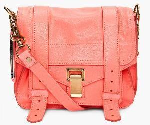 Coral messenger bag.obsessed!