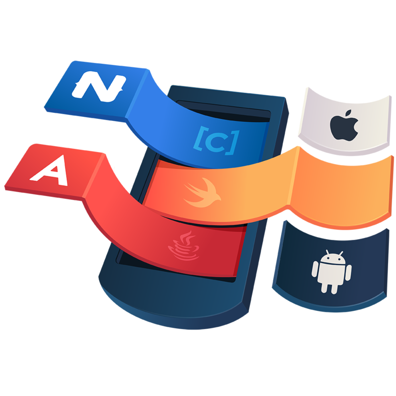 illustration for Use Objective C, Swift and Java api's in
