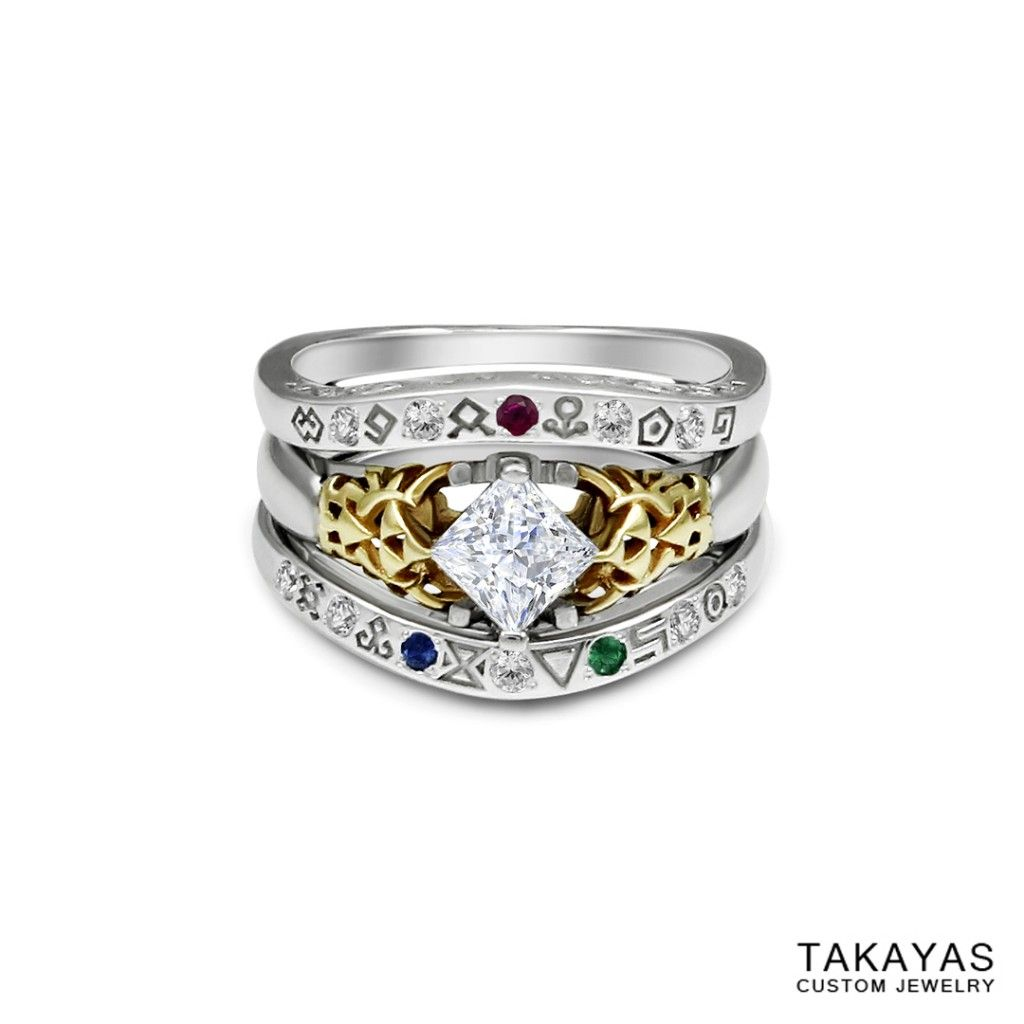 For Robert And Jeannette's Wedding, Master Jeweler Takayas Mizuno Has  Created A Set Of Legend