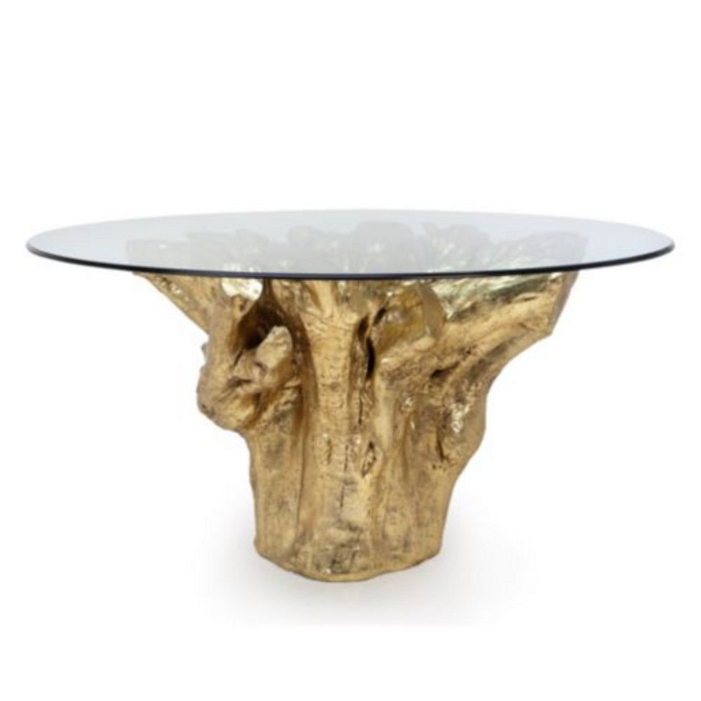 Sequoia Dining Table Dining Table With 60 Glass Dining Table Dining Table Gold Dining Table Bases