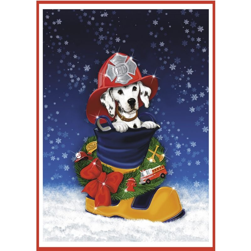 Firefighter Christmas Cards | Firefighting items | Firefighter ...
